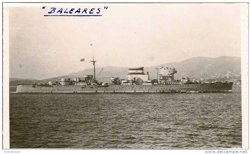 Croiseurs espagnols Balear10