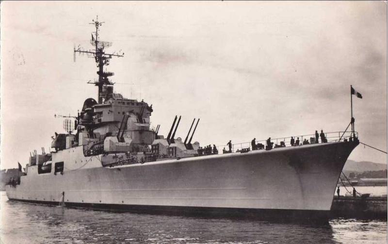 Croiseurs français  De_gra10