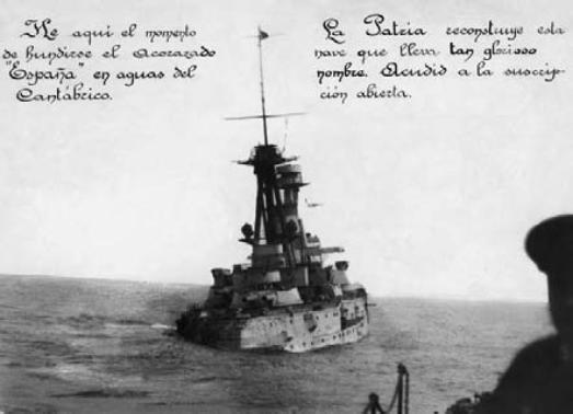 Juillet 1936à avril 1939; marine espagnole la guerre civile Espana10