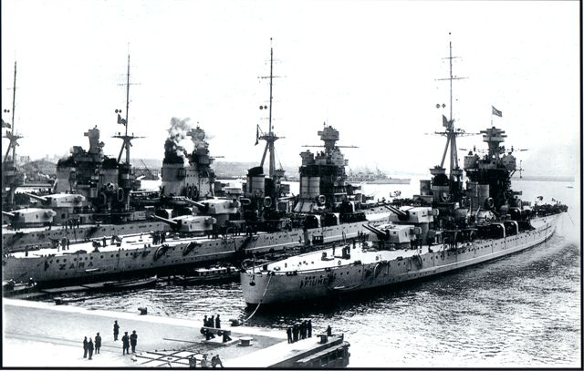 29 mars 1941; la bataille du Cap Matapan Fiume_14