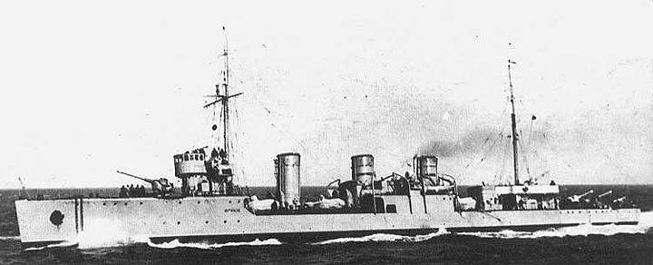 Destroyers russes/Soviétiques  Frunze10