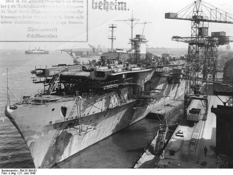 Graf Zeppelin, le porte-avions allemand inachevé Graf_z11