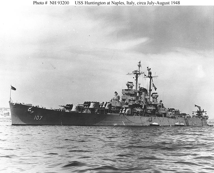 Croiseurs américains Huntin10