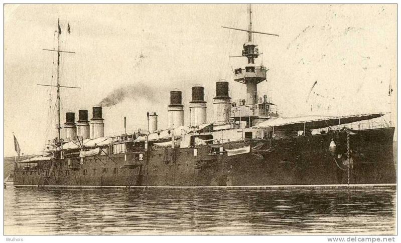 Croiseurs français  Jeanne12