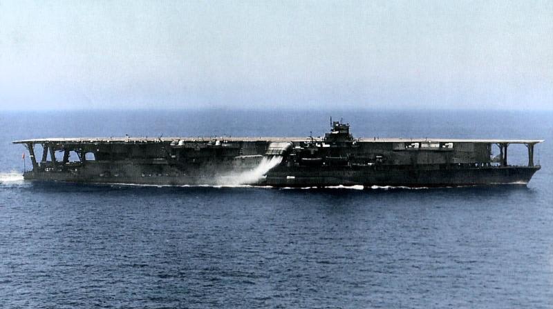 Porte-avions japonais Kaga_111