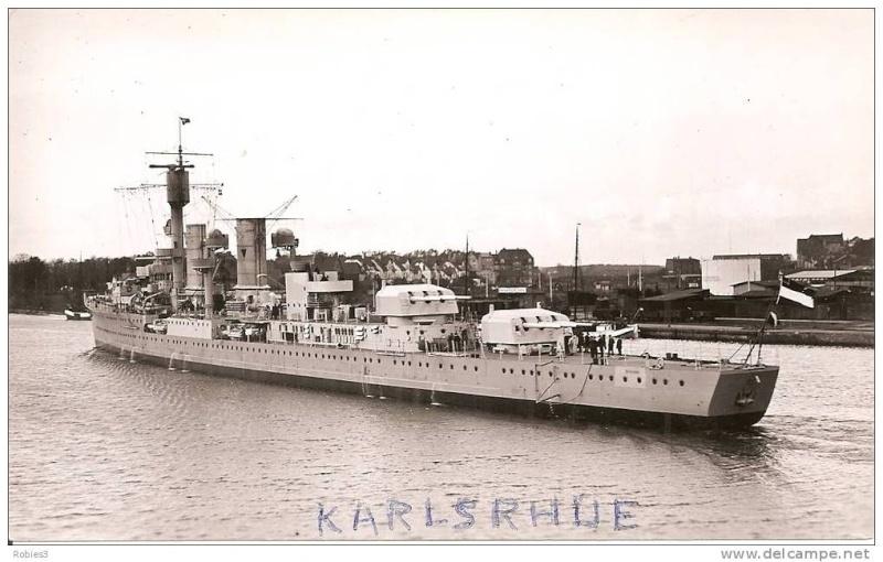 Croiseurs allemands Karlsr11
