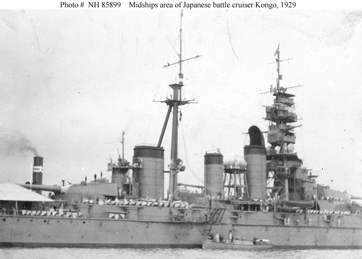 Cuirassés japonais - Page 2 Kongo_11