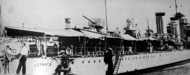 Juillet 1936à avril 1939; marine espagnole la guerre civile Lepant10