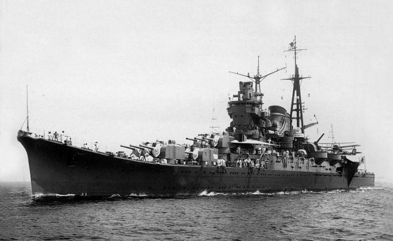 Croiseurs japonais Mogami11