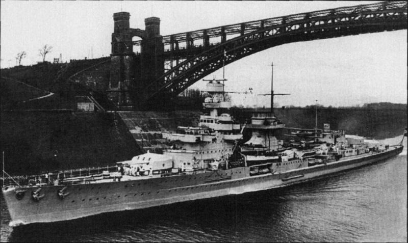 Croiseurs allemands Nurnbe10