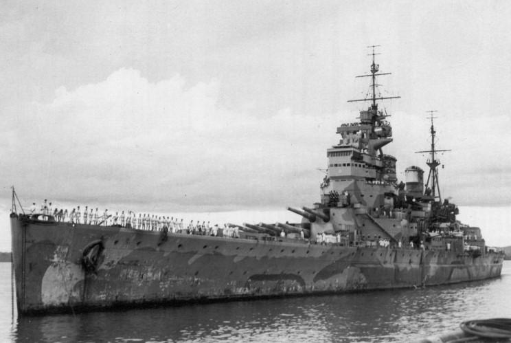 Le 10 décembre 1941, destruction de la force Z par les jap Prince10