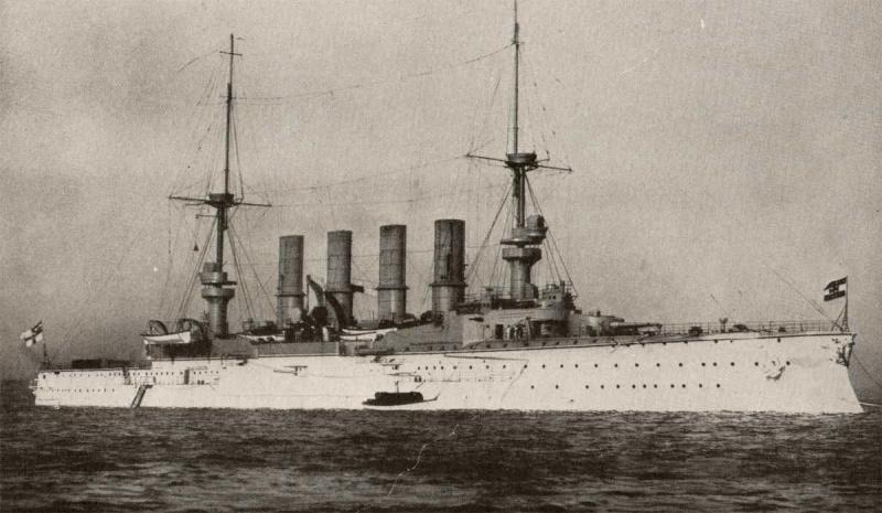 Croiseurs allemands Scharn10