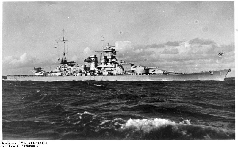 Cuirassés allemands Scharn13