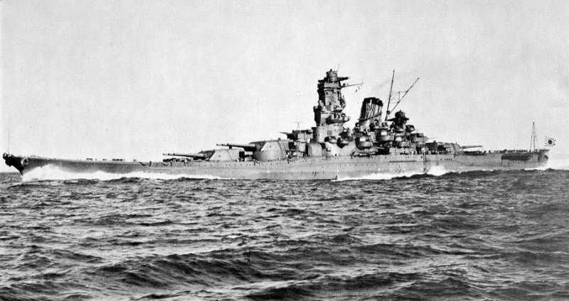 Cuirassés japonais Yamato14