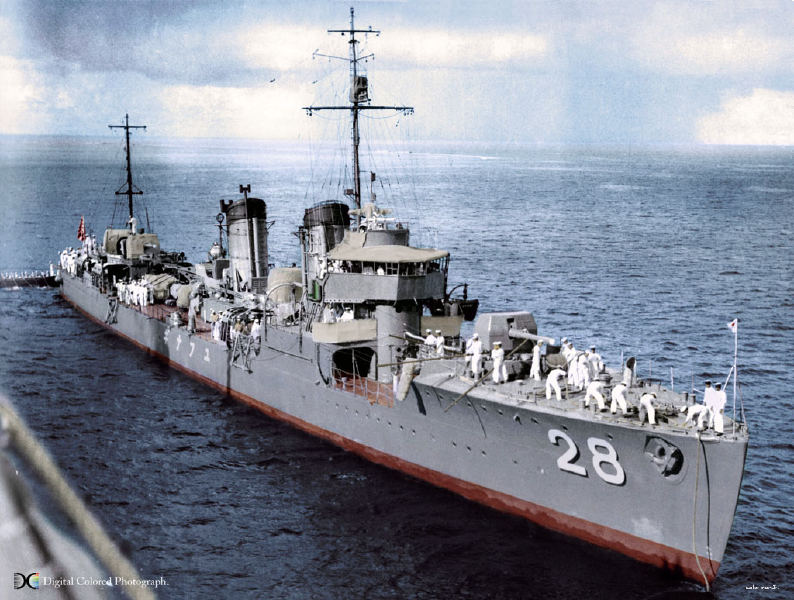 Destroyers japonais Yunagi11