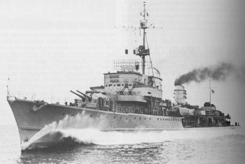 Destroyers allemands Z39-ze11