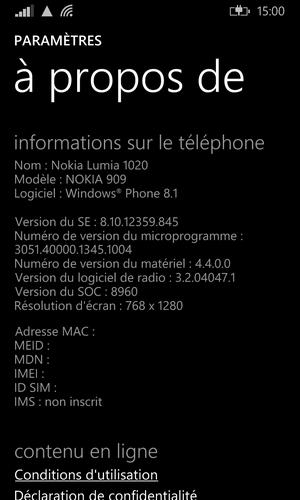 [DISCUSSION]Retours sur Windows Phone 8.1 & Dev-Preview 0310