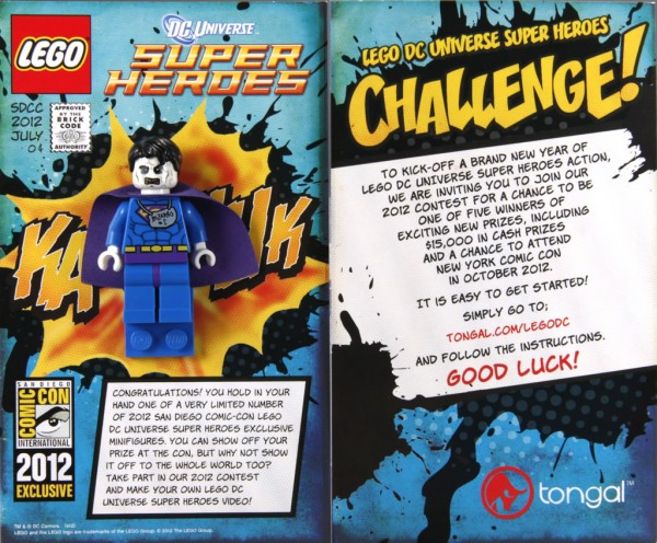 LEGO Batman/Dc Universe Super Heroes (2006 - Aujourd'hui) Sdcc-b10