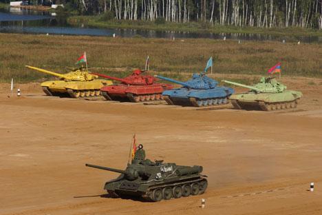 Better than war: International Tank Biathlon Dsc01710