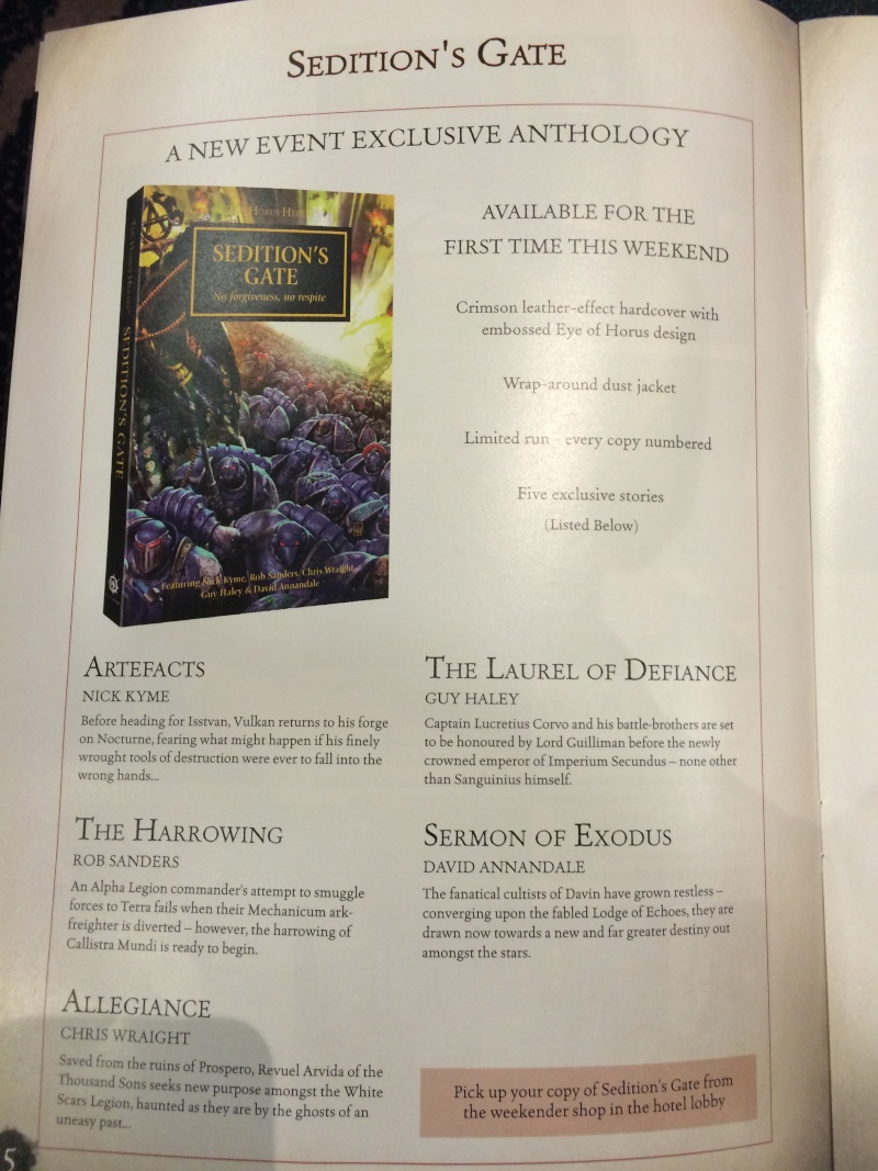 [The Horus Heresy Weekender 2014] - Centralisation des news - Page 2 2014-010