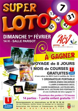 affiche loto Acv-af10