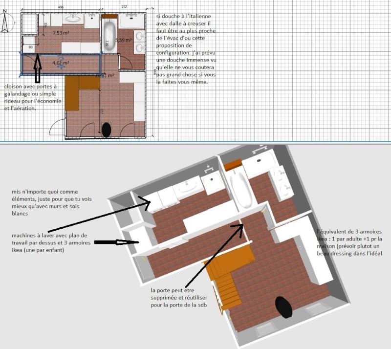 Deux salles d'eau en une, un projet fou pour petit budget ??? ENFIN LES PHOTOS !!!! - Page 2 Jonati12