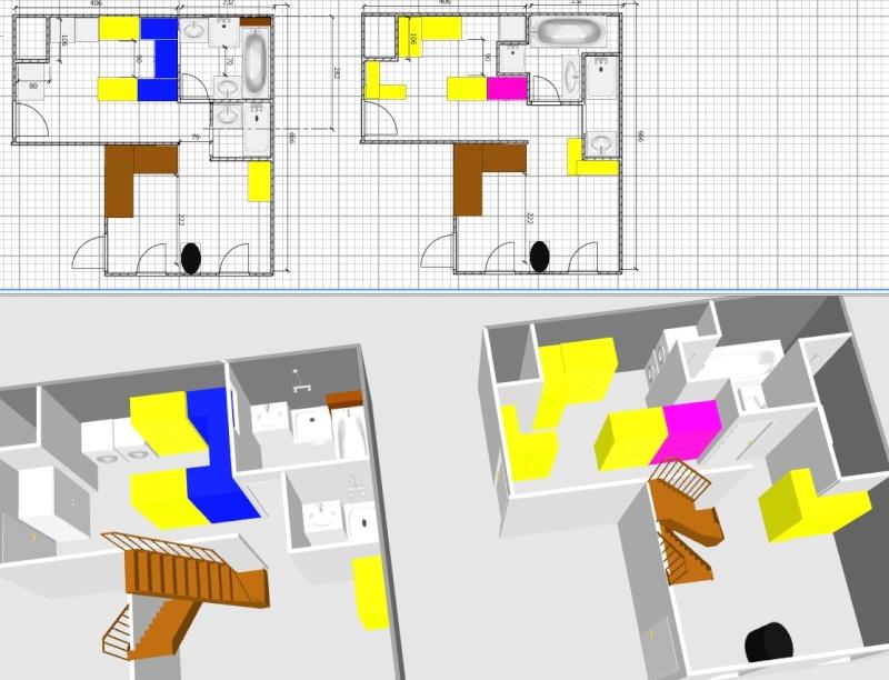 Deux salles d'eau en une, un projet fou pour petit budget ??? ENFIN LES PHOTOS !!!! - Page 3 Jonati14