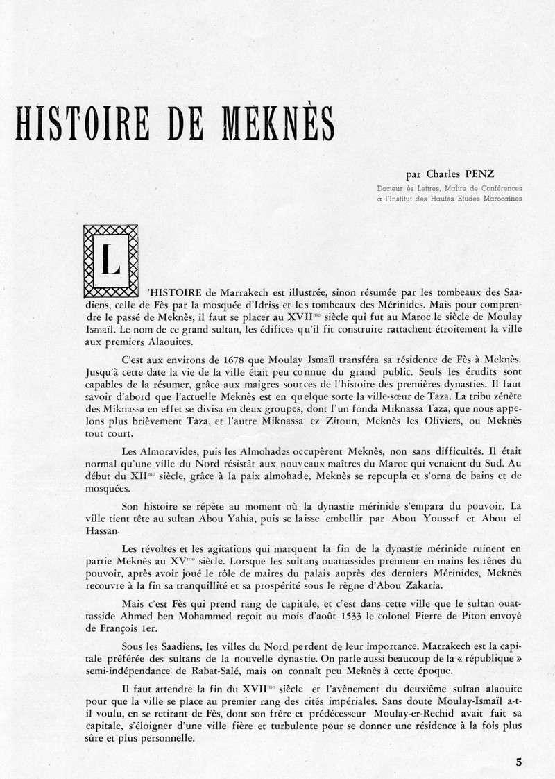 Meknès et sa Région. 04-sws11