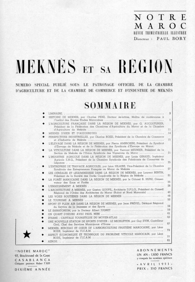 Meknès et sa Région. 1-sws013