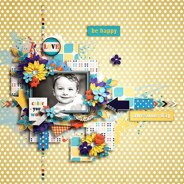 Color your world Memory Mix - November 1st - Mscraps Tinci_12