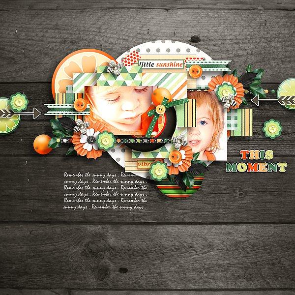 Orange dream Memory Mix at Mscraps - March 7. Tinci_24