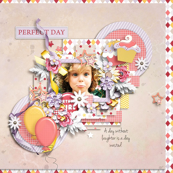 A girl's birthday kit and templates and Welcome to my world templates - May 2. iNSD Tinci_32