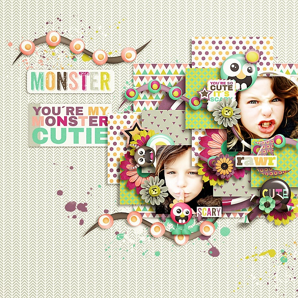 A girl's birthday kit and templates and Welcome to my world templates - May 2. iNSD Ttt_mo10