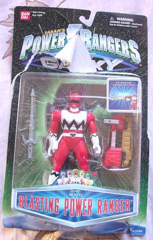 CERCO Action figure Power Rangers NUOVE 0433110