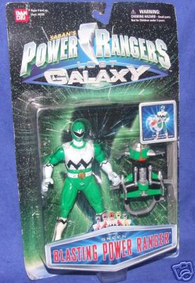 CERCO Action figure Power Rangers NUOVE 0433210