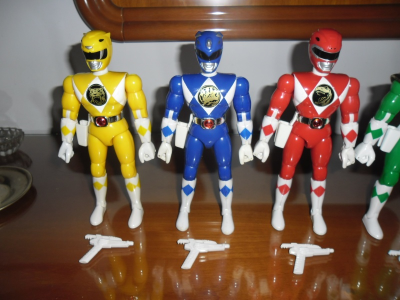 Lotto 6 MIGHTY MORPHIN POWER RANGERS 20cm COME NUOVI!!! Sam_5211