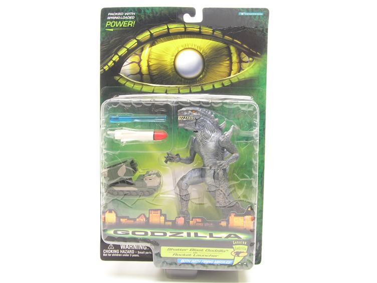 CERCO action figure Godzilla con lanciamissili 1998 Shatte10