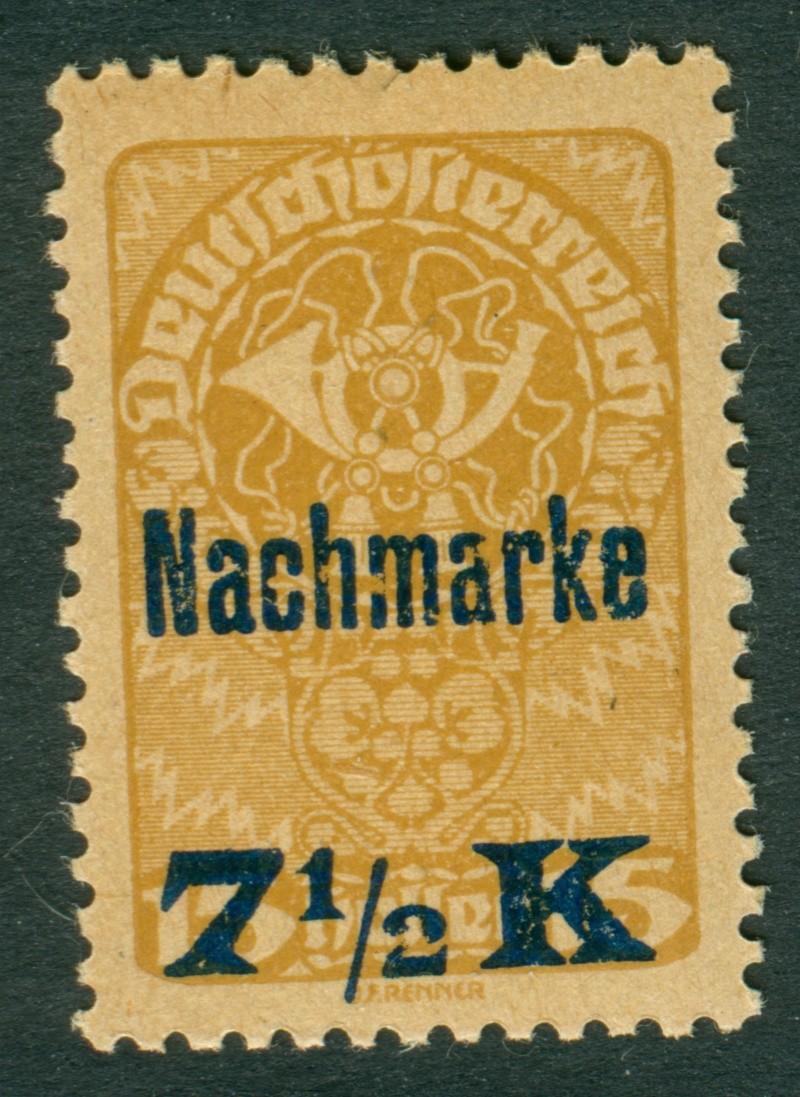 Frage zum Aufdruck einer Österr. Briefmarke Asterr10