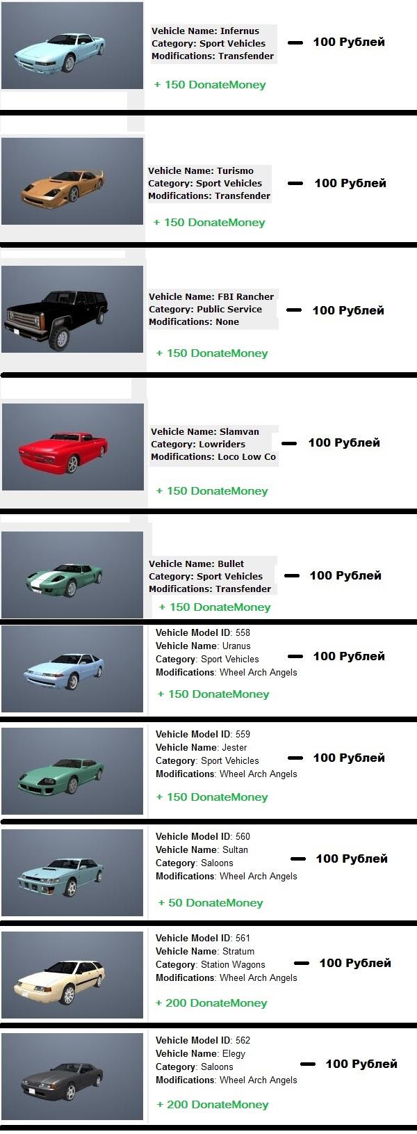 Заказ личного Автомобиля Sd1010