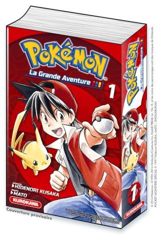 """[NEWS] Kurokawa va sortir le manga """"Pokémon, La Grande Aventure !"""" Livre-10"""