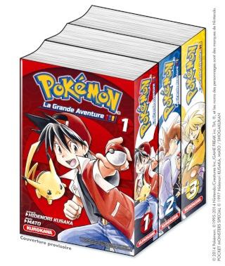 """[NEWS] Kurokawa va sortir le manga """"Pokémon, La Grande Aventure !"""" Livre-11"""