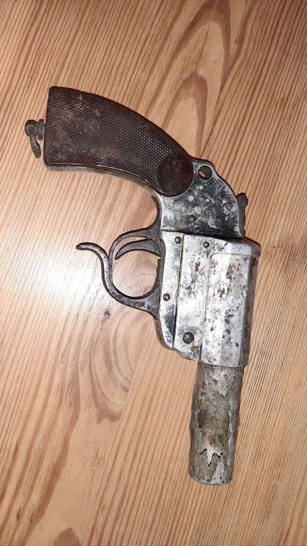 Pistolet lance-fusée allemand WW2 13159610