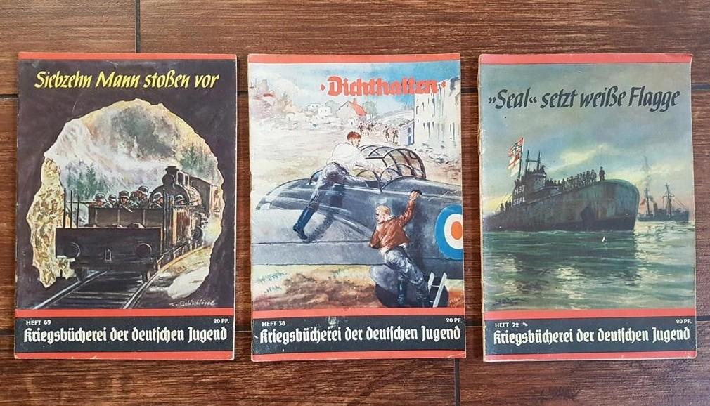 Livrets de propagande jeunesse hitlérienne Kriegsbücherei der deutschen Jugend 2020-127