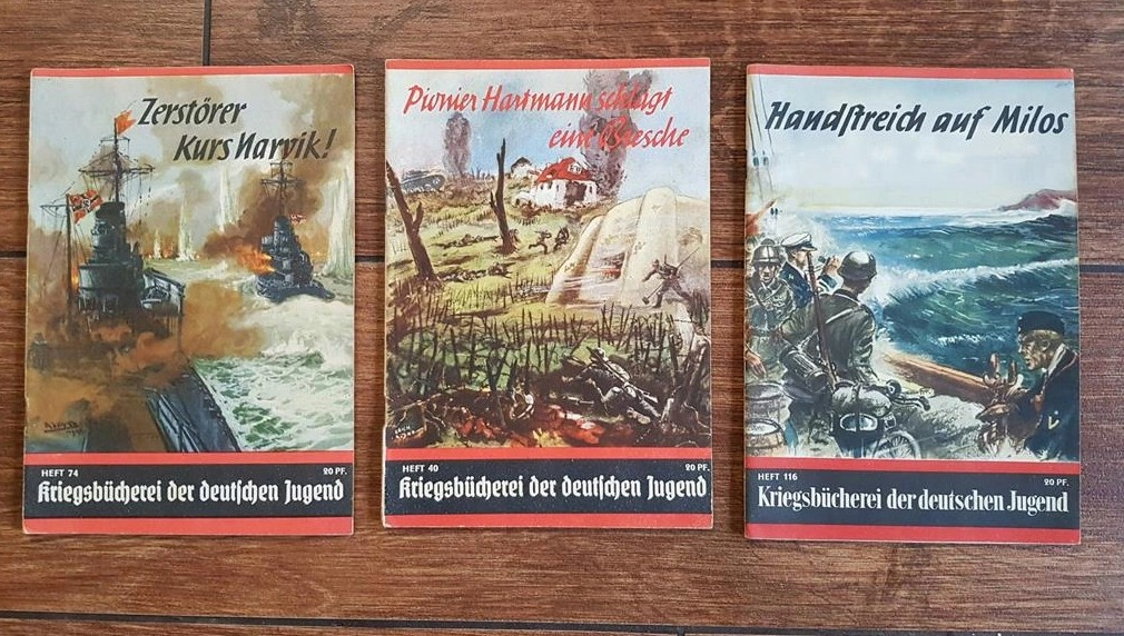 Livrets de propagande jeunesse hitlérienne Kriegsbücherei der deutschen Jugend 2020-128