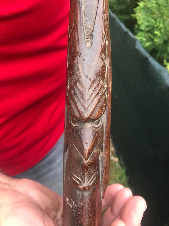 Fusil ancien, crosse sculptée 95266110