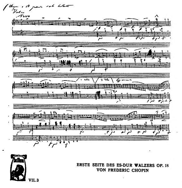 الفالس الكبير للبيانو من اشهر اعمال شوبان مصنف رقم  Waltz in Eb, Op.18 -'Grande valse brillante'   583px-10
