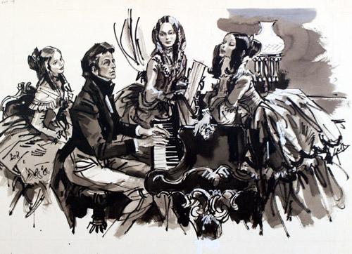 برليود للبيانو رقم 4 مصنف رقم 28 اشهر اعمال شوبان Prelude in E-Minor (op.28 no. 4 Marsha10