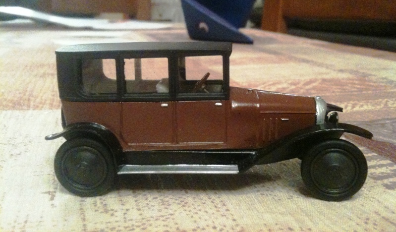 1921 - la deuxième Citroën ... Profil10