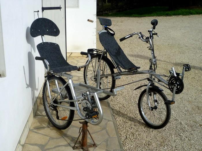 Le side-car pour vélocouché Side-c11