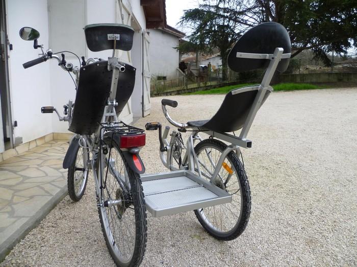 Le side-car pour vélocouché Side-c14